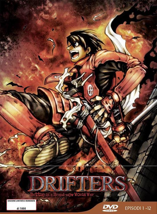 Drifters. Limited Edition (DVD) di Kenichi Suzuki - DVD