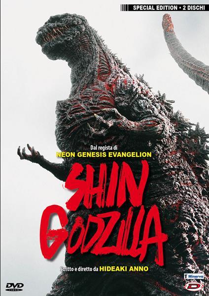 Shin Godzilla (2 DVD) di Hideaki Anno,Shinji Higuchi - DVD