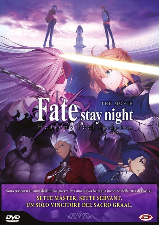 Fate/Stay Night - Heaven'S Feel 1. Presage Flower (DVD) di Tomonori Sudo - DVD