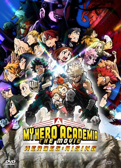 My Hero Academia: The Movie - Heroes: Rising di Kenji Nagasaki - DVD