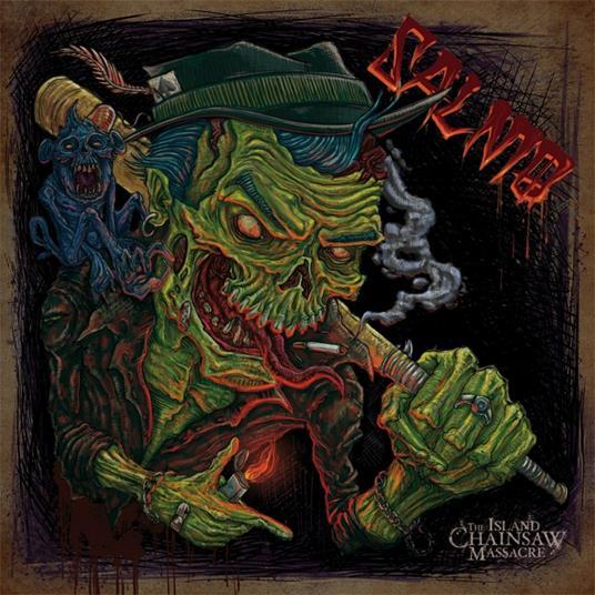 The Island Chainsaw Massacre - Vinile LP di Salmo
