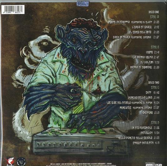 The Island Chainsaw Massacre - Vinile LP di Salmo - 2