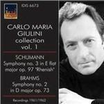 Sinfonia Renana n.3 op.97 / Sinfonia n.2 op.73