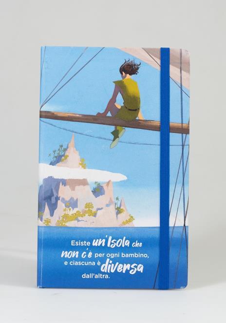 Taccuino a righe OpenWorld Lettura Copertina Rigida Peter Pan - 13x21 cm