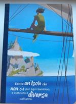 Taccuino a righe OpenWorld Lettura Canvas Peter Pan - 15x21 cm