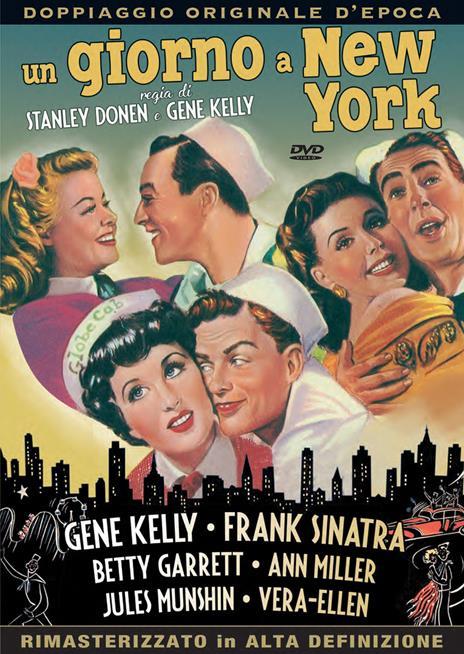 Un giorno a New York (DVD) di Gene Kelly,Stanley Donen - DVD