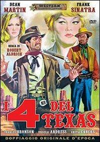 I quattro del Texas di Robert Aldrich - DVD