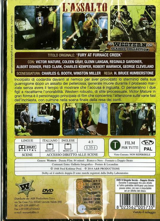 L' assalto di H. Bruce Humberstone - DVD - 2