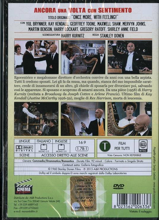 Ancora una volta, con sentimento di Stanley Donen - DVD - 2