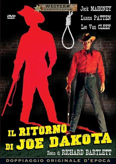 Il ritorno di Joe Dakota di Richard Bartlett - DVD