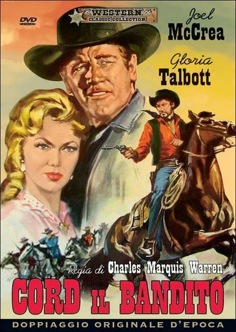 Cord il bandito di Charles Marquis Warren - DVD