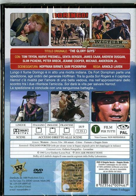 Doringo! di Arnold Laven - DVD - 2