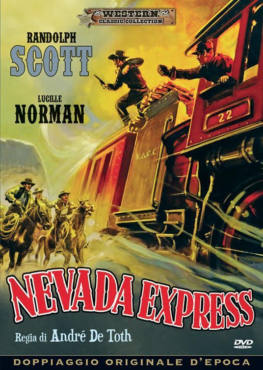 Nevada Express (DVD) di André De Toth - DVD