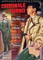 Criminale di turno (DVD)