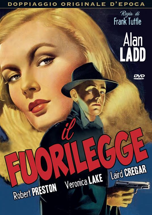 Il fuorilegge (DVD) di Frank Tuttle - DVD