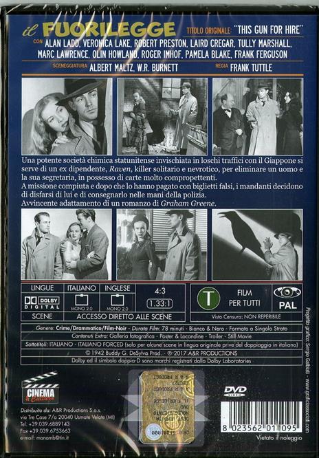 Il fuorilegge (DVD) di Frank Tuttle - DVD - 2