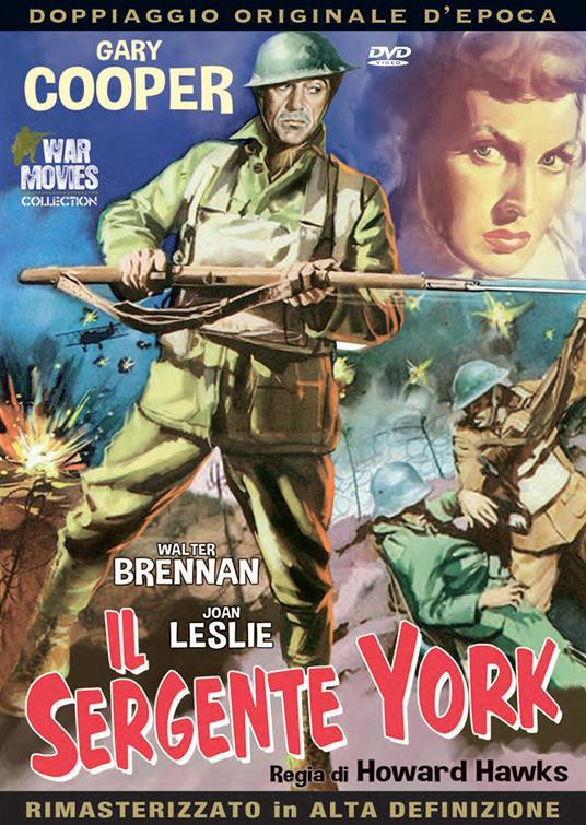 Il sergente York (DVD) di Howard Hawks - DVD