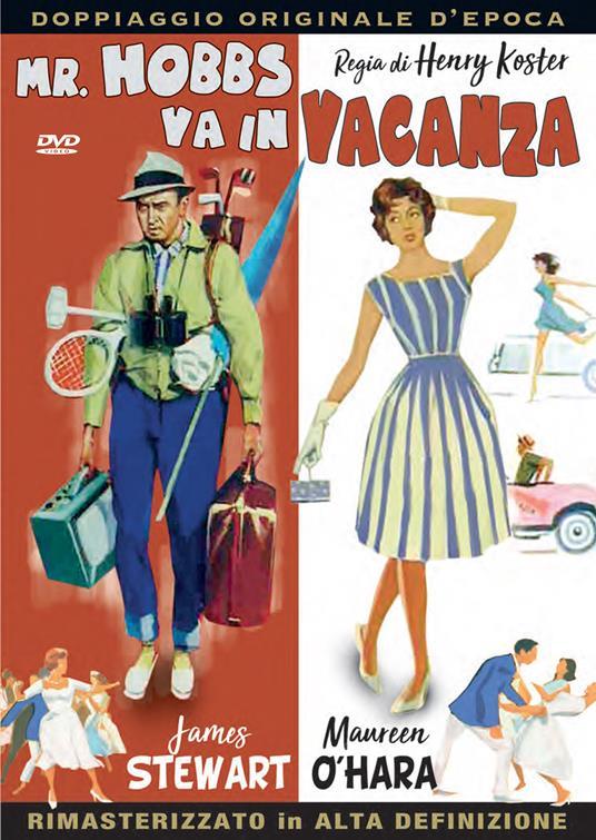Mr. Hobbs va in vacanza. Rimasterizzato in HD (DVD) di Henry Koster - DVD