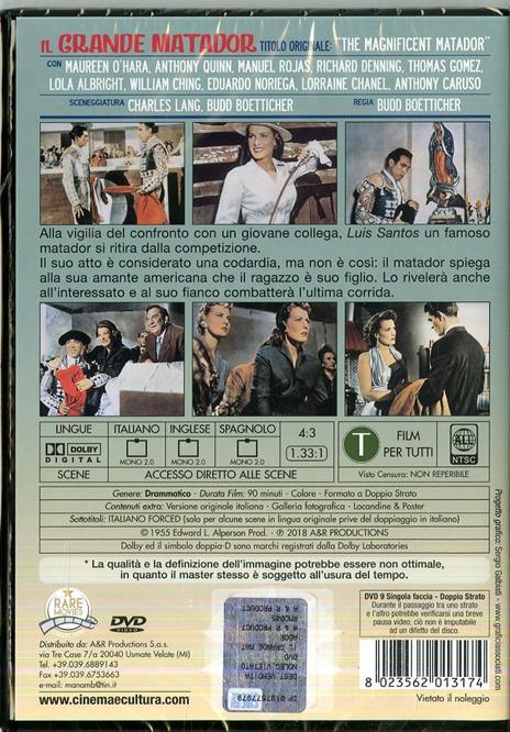 Il grande matador (DVD) di Budd Boetticher - DVD - 2