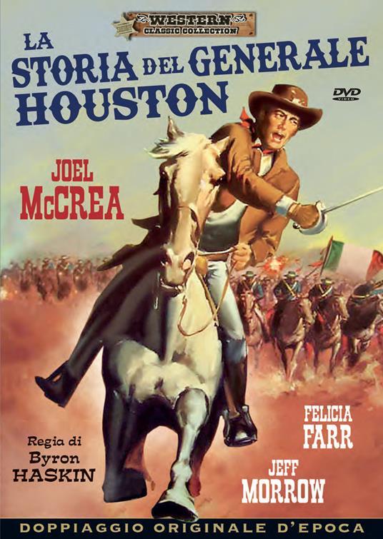 La storia del generale Houston (DVD) di Byron Haskin - DVD
