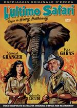 L' ultimo safari (DVD)