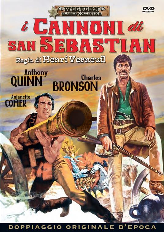 I annoni di San Sebastian di Henri Verneuil - DVD
