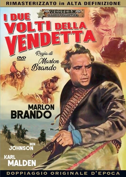 I due volti della vendetta di Marlon Brando - DVD