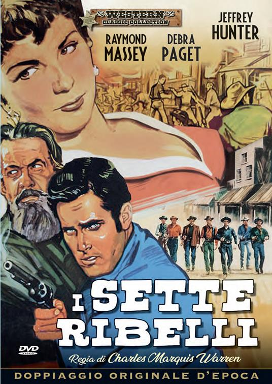 I sette ribelli di Charles M. Warren - DVD