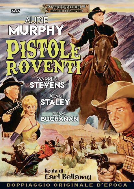 Pistole roventi (DVD) di Earl Bellamy - DVD
