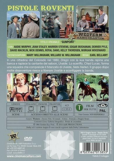 Pistole roventi (DVD) di Earl Bellamy - DVD - 2