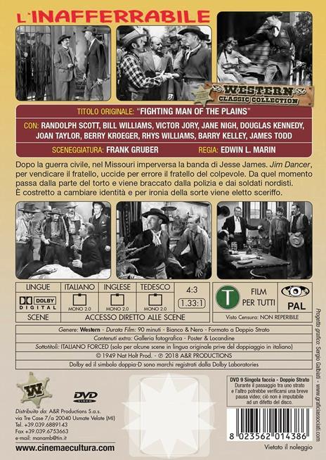 L' inafferrabile (DVD) di Edwin L. Marin - DVD - 2