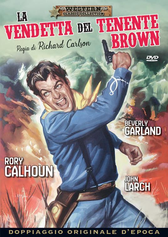 La vendetta del tenente Brown (DVD) di Richard Carlson - DVD