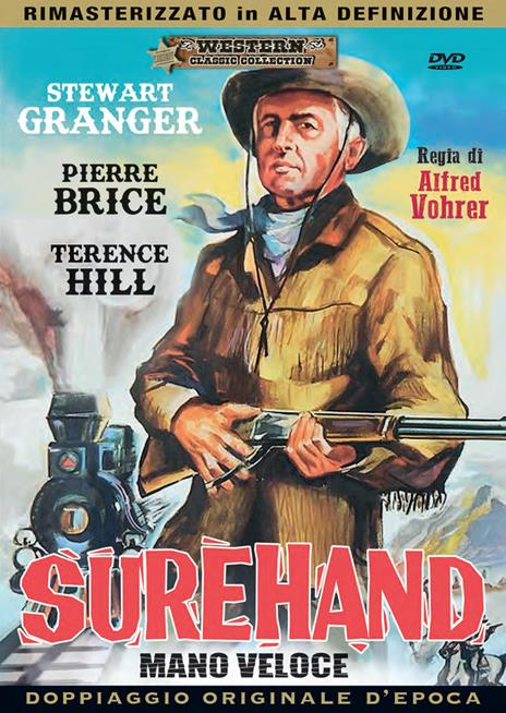 Surehand. Mano veloce (DVD) di Alfred Vohrer - DVD