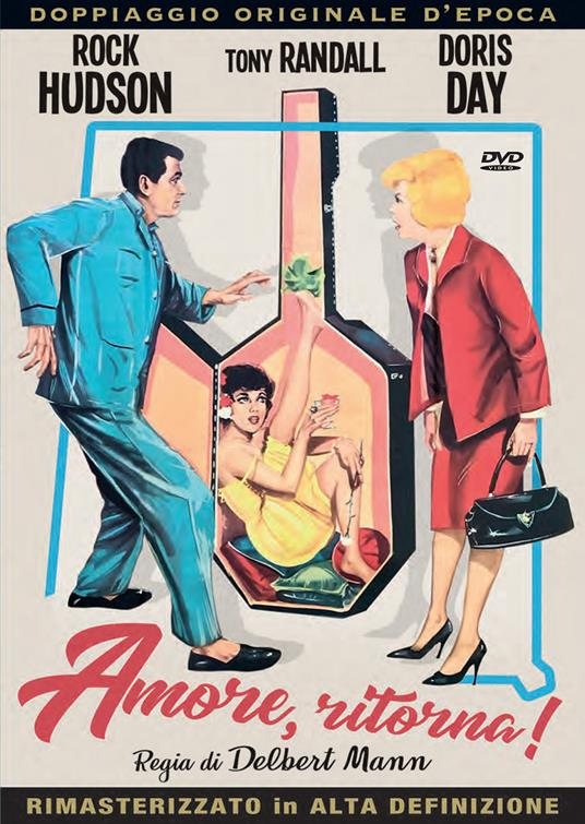Amore ritorna (DVD) di Delbert Mann - DVD