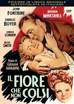 Il fiore che non colsi (DVD)