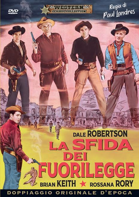 La sfida dei fuorilegge (DVD) di Paul Landres - DVD