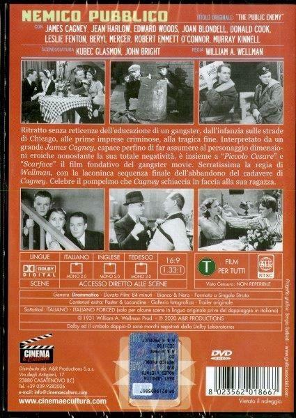 Nemico pubblico (DVD) di William A. Wellman - DVD - 2