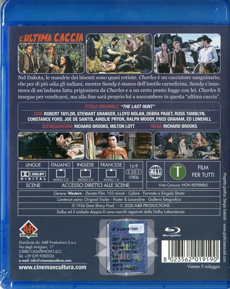 L' ultima caccia (Blu-ray) di Richard Brooks - Blu-ray - 2