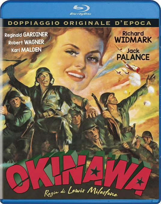 Okinawa (Blu-ray) di Lewis Milestone - Blu-ray