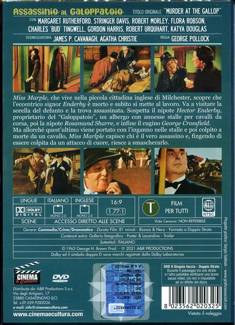 Assassinio al galoppatoio (DVD) di George Pollock - DVD - 2