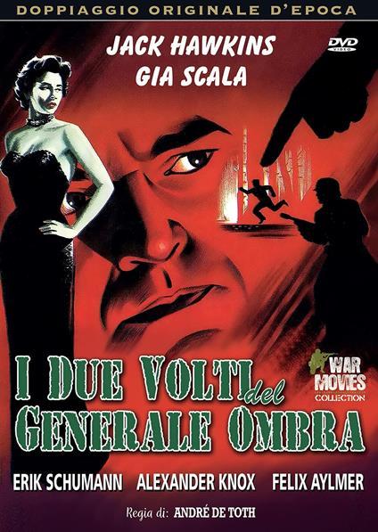 I due volti del generale ombra (DVD) di André De Toth - DVD