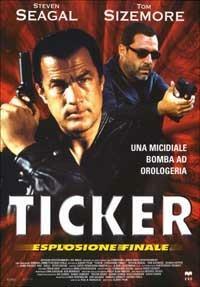 Ticker, esplosione finale di Albert Pyun - DVD