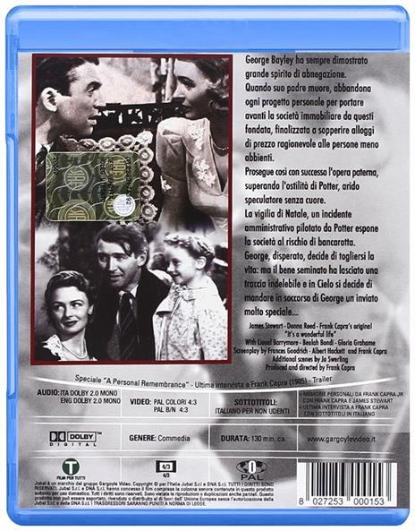 La vita è meravigliosa (Blu-ray) di Frank Capra - Blu-ray - 2