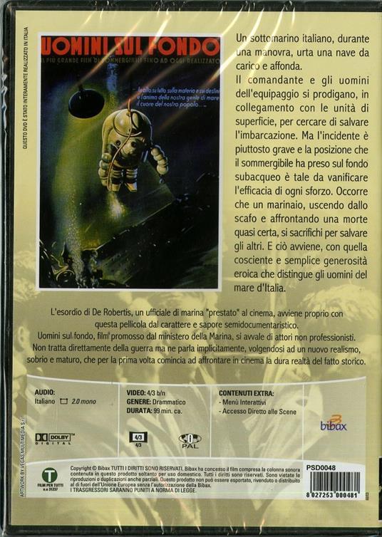 Uomini sul fondo di Francesco De Robertis - DVD - 2