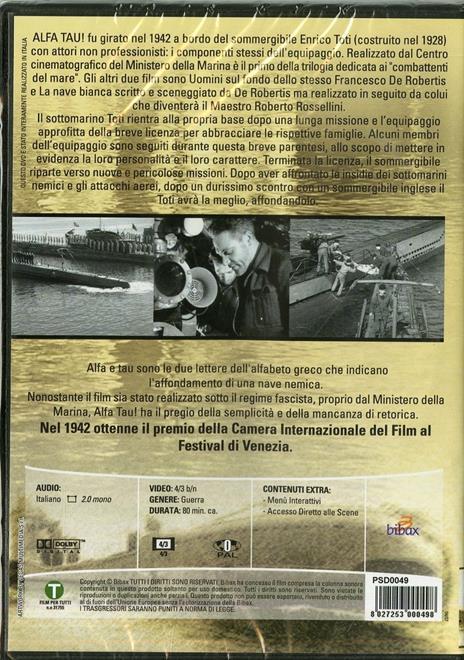 Alfa Tau! di Francesco De Robertis - DVD - 2