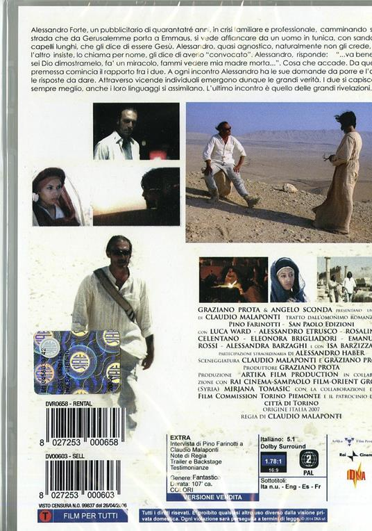 7 Km da Gerusalemme di Claudio Malaponti - DVD - 2