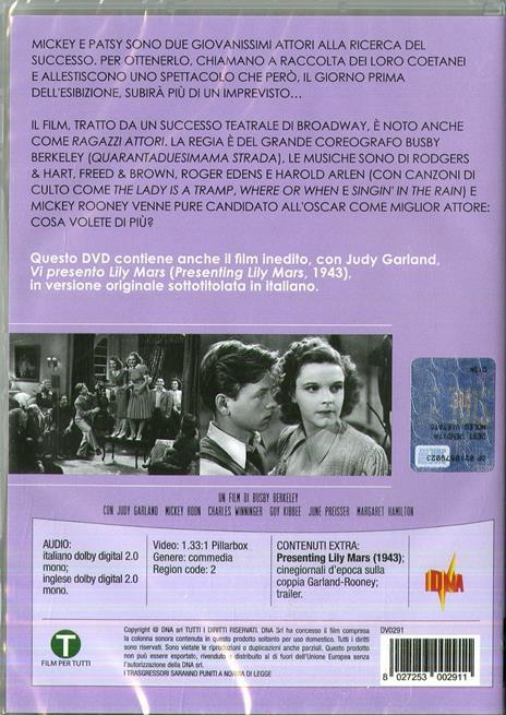 Quarantaduesima strada (DVD) di Lloyd Bacon - DVD - 2
