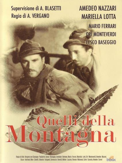 Quelli della montagna di Aldo Vergano - DVD