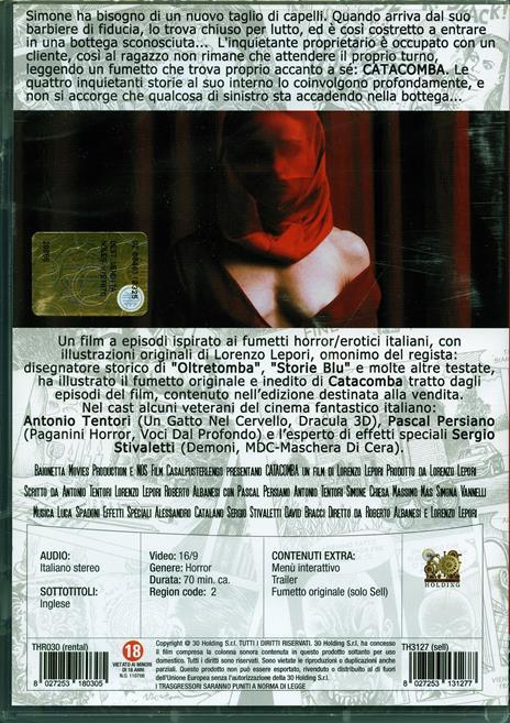 Catacomba di Lorenzo Lepori,Roberto Albanesi - DVD - 2