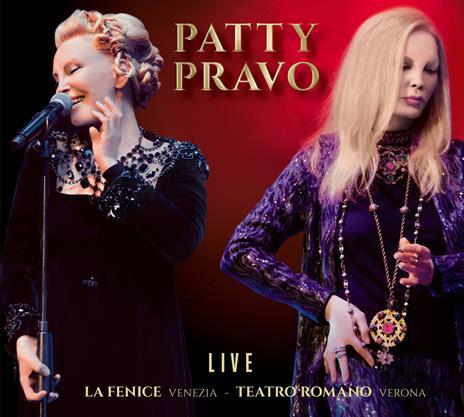 Live Teatro Romano di Verona & La Fenice di Venezia - CD Audio di Patty Pravo